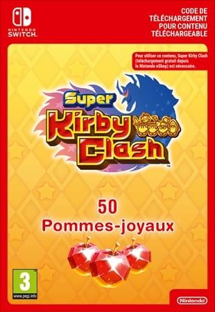 Super Kirby Clash 50 Kristalappels