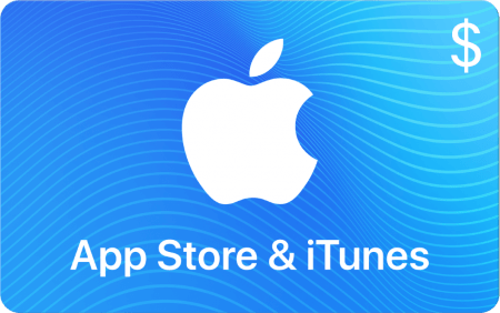 App Store and iTunes Card $50