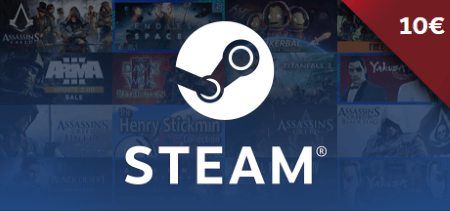 Steam Gift Card €10