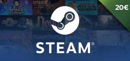Steam Gift Card €20