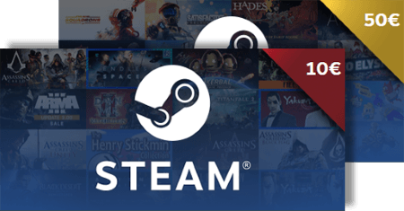Steam Gift Card €60