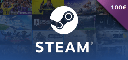 Steam Gift Card €100