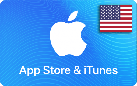 App Store and iTunes Card 50 US