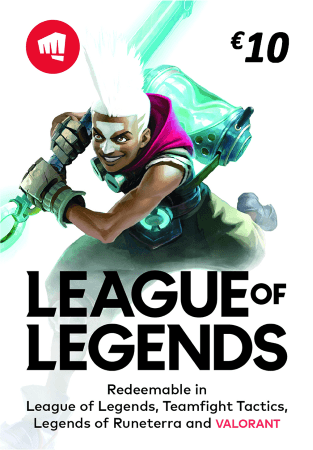 Carte League of Legends €10
