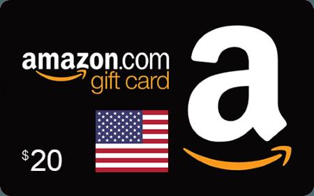 Amazon US Gift Card $20