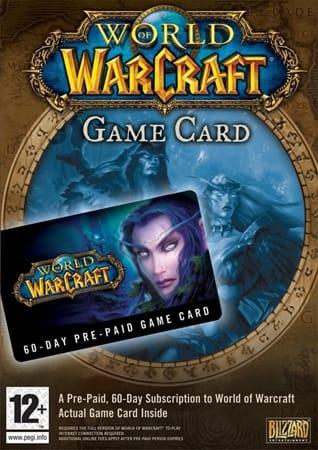 World of Warcraft Timecards 60 dagen US