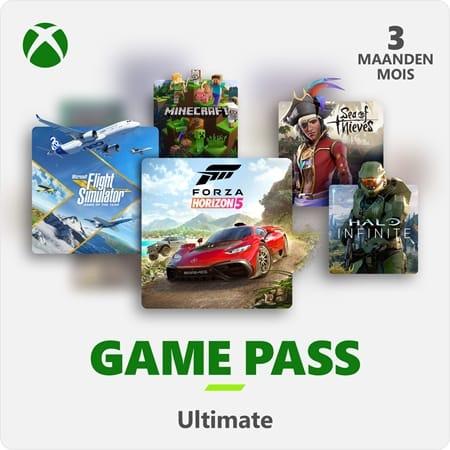 Xbox Game Pass Ultimate 3 maanden