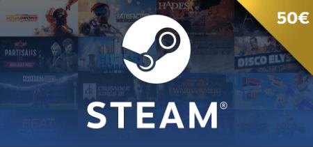Steam Gift Card €50