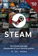 Steam Gift Card $50 US