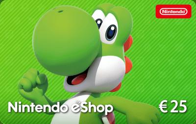 Nintendo eShop Card €25