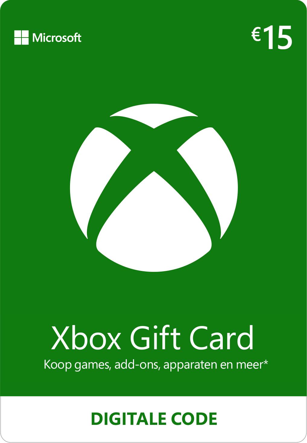 Xbox Gift Card €15